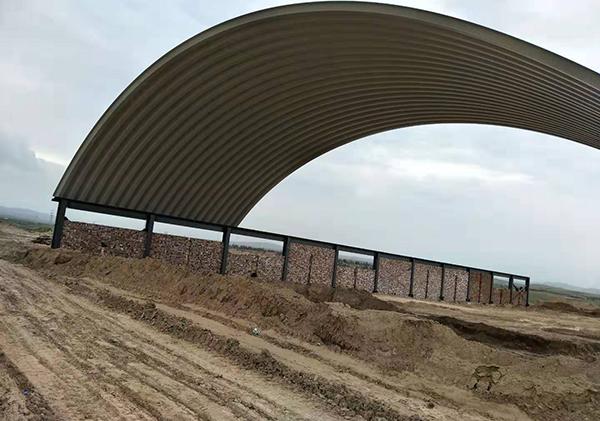 衢州仓间拱形罩棚生产