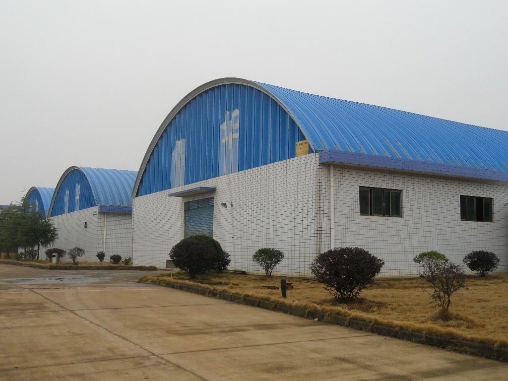 西双版纳彩色拱形屋顶工厂