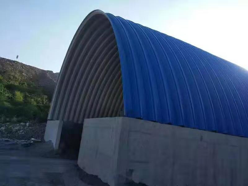 毕节仓间拱形罩棚厂