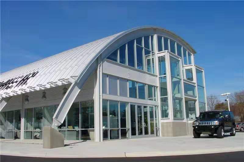 铜仁彩钢拱形屋顶厂商销售