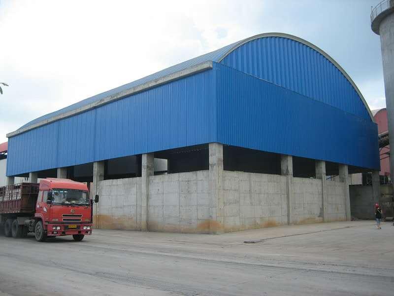 雅安彩钢拱形棚生产厂